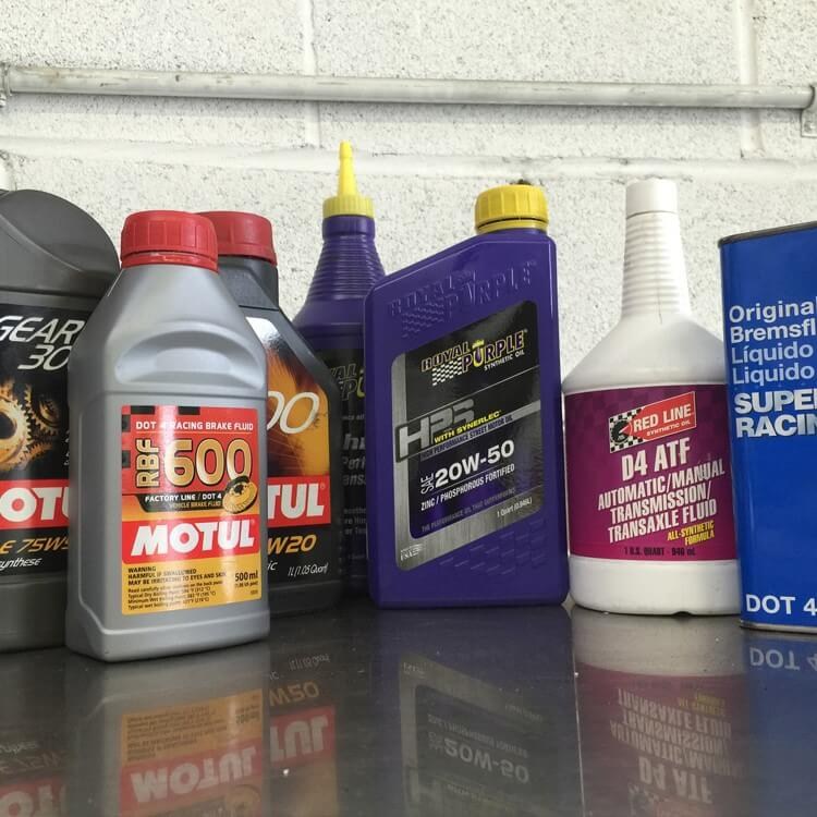 Pure Automotive Performance Fluid Service